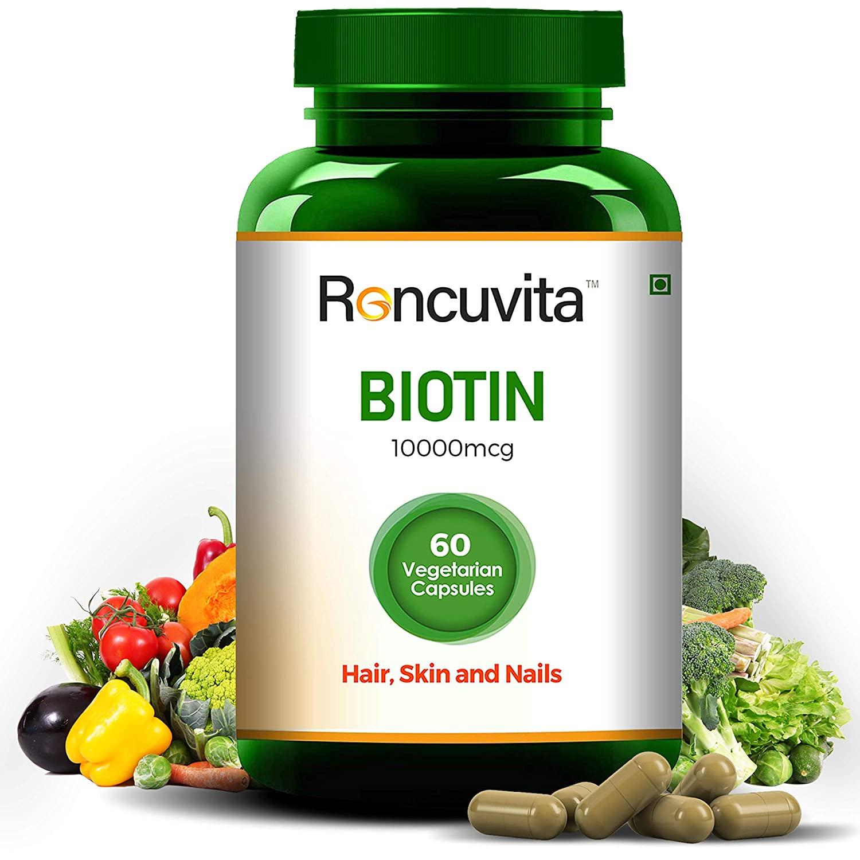 Biotin 10000 mcg hair skin and nails reviews