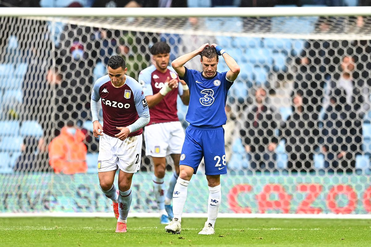 Chelsea vs Aston Villa- Match Report as Woeful Blues cling on to secure Champions League Qualification