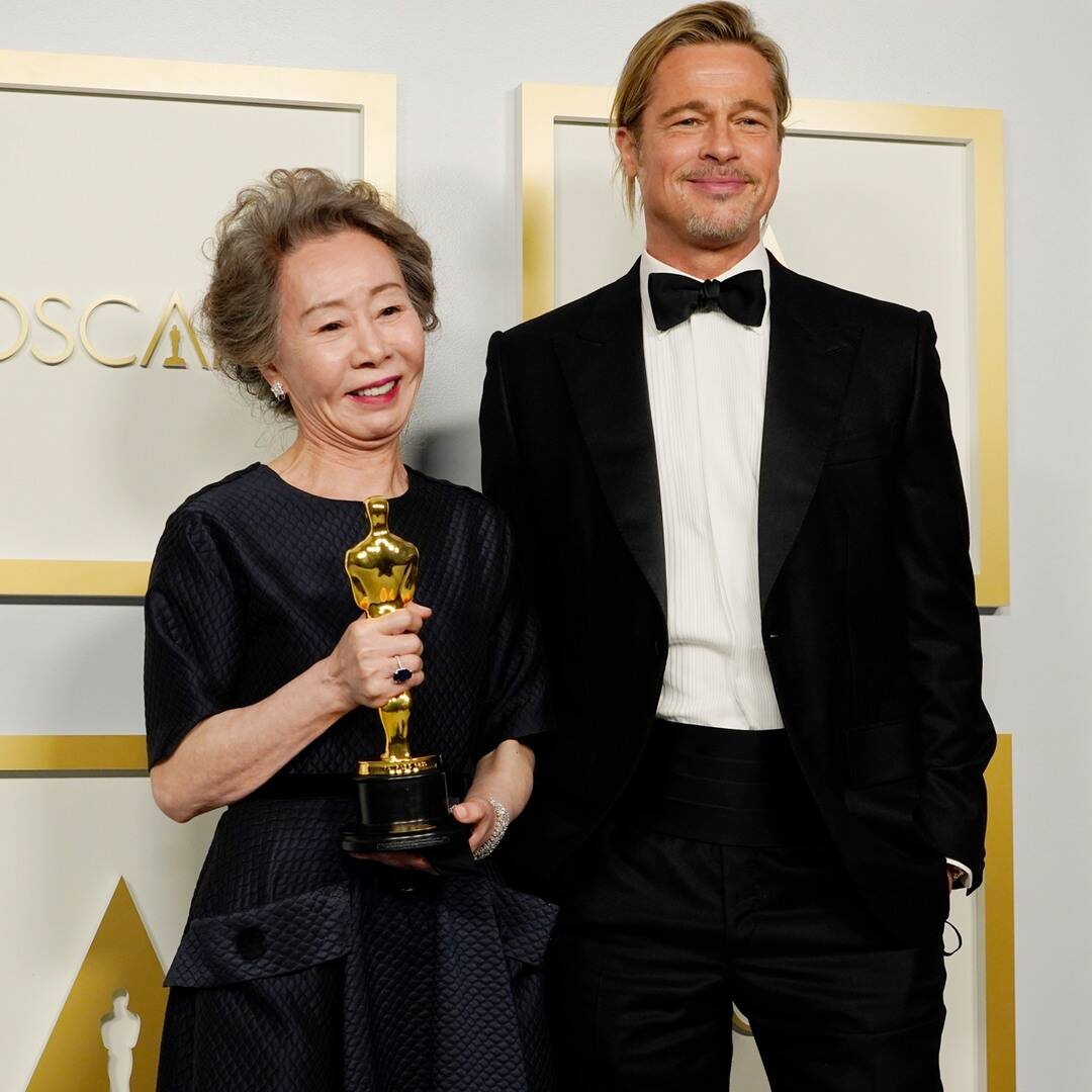 Oscar Winner Yuh-Jung Youn Had the Perfect Response When Asked How Brad Pitt Smells